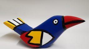 Houten vogel
